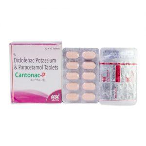 Diclofenac Potassium 50mg + Paracetamol 325mg