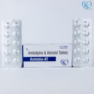 Amlodipine 5 mg and Atenolol 50 mg