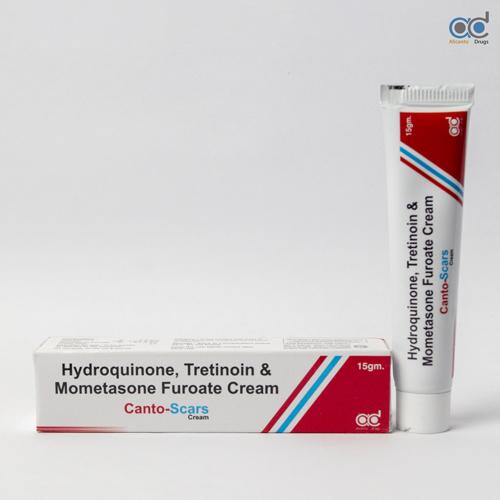 Hydroquinone , Tretinoin and Mometasone Furoate Cream